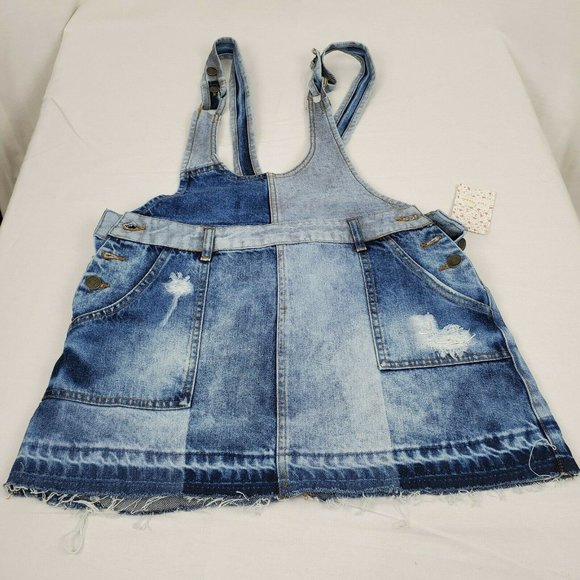 NWT Free People Womens Size 6 Summer Short Overall